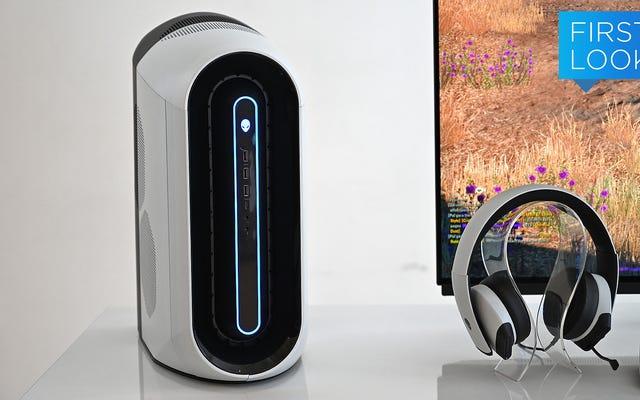 Máy tính để bàn Aurora được tân trang lại của Alienware có Hệ thống làm mát thông minh hơn và thiết kế hoàn toàn mới