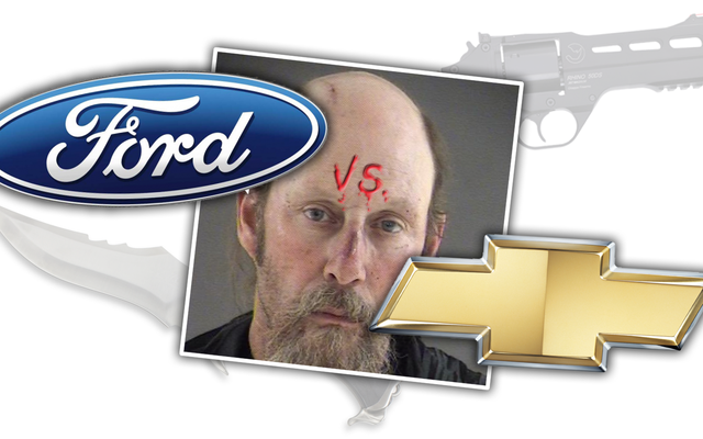 フォード対シボレーの議論が最終的にナイフと銃で解決した