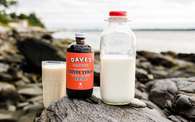 Jarabe de café de Dave: Nesquik para adultos