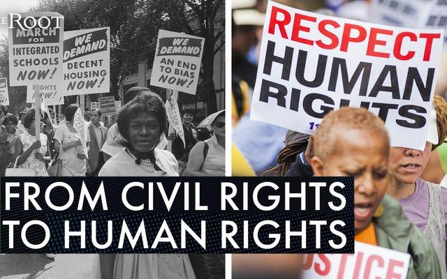 公民権を超えて動く:人権問題としての黒人の生活のための運動を認めることの重要性