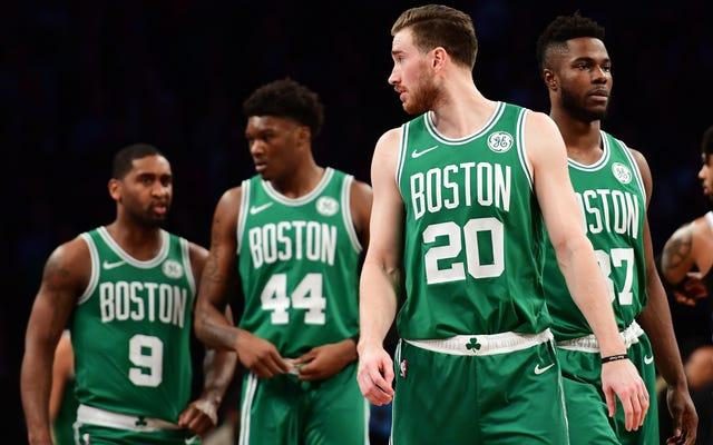 Les Celtics n'ont pas raison
