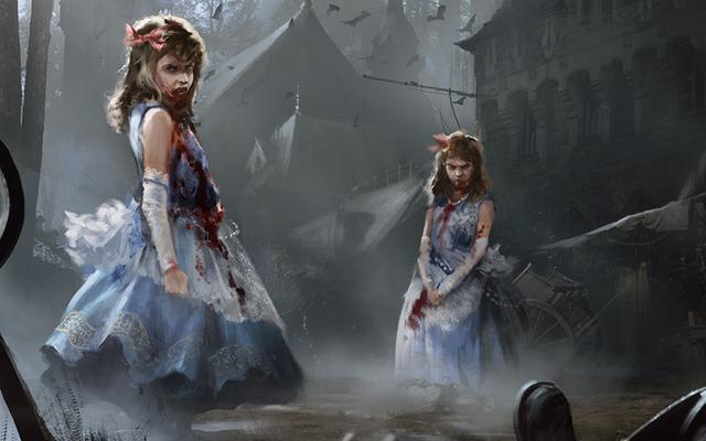 इस भूतिया जादू की गॉथिक महिमा में बासक: द गैदरिंग आर्ट
