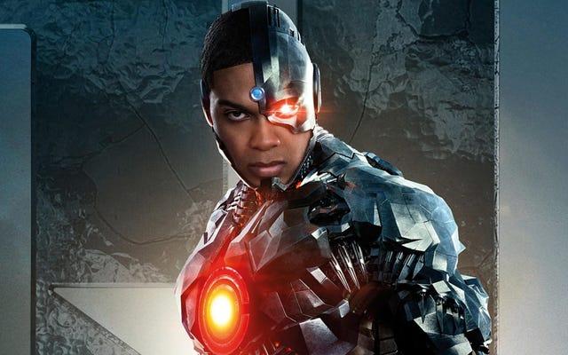 Le cyborg de Ray Fisher n'apparaîtra plus dans le flash