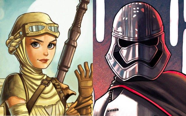 Découvrez les héroïnes de Star Wars dans toute leur gloire animée