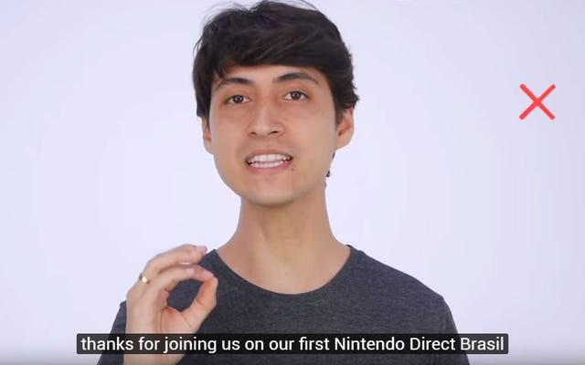 Nintendo Tarafından Görmezden Gelen Brezilyalı Hayranlar Kendi Nintendo Directlerini Çekiyor