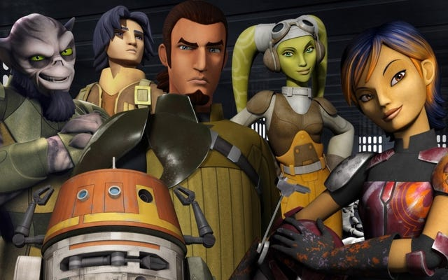 ตัวละครหลัก Rogue One มุ่งหน้าสู่ Star Wars Rebels