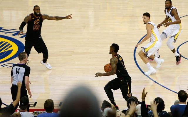 Bir NBA Finalleri Maçından 1 Hâlâ Öfkeli Gözlemlerim Bir Şeyler Kırmak ve İnsanlarla Dövüşmek İstememi Sağladı