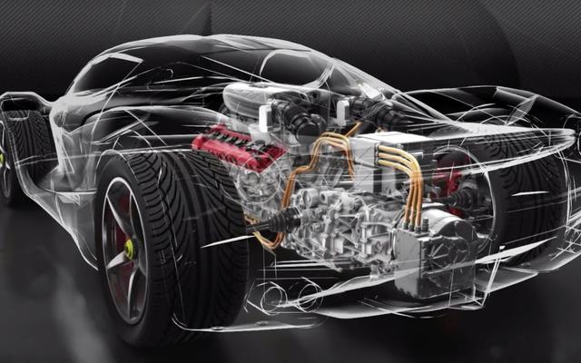 Ferrari 'neigt sich nach' und hält die Technologie für elektrische Antriebe im Haus