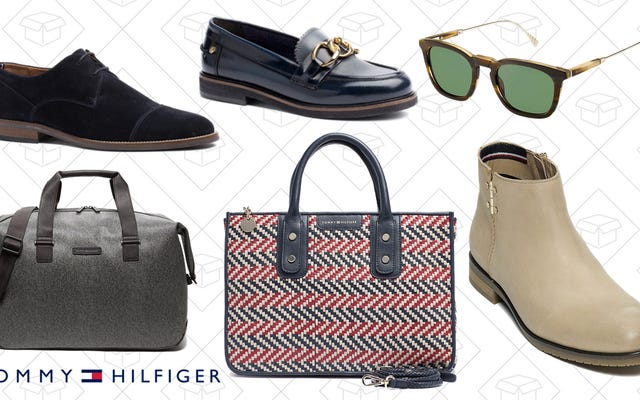 トミーヒルフィガーの靴とアクセサリーを割引価格で購入