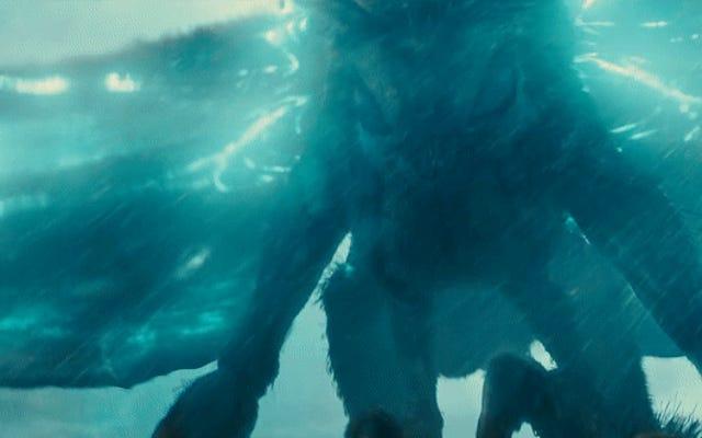 Il fantastico uovo di Pasqua di Kaiju Godzilla: King of the Monsters vola via