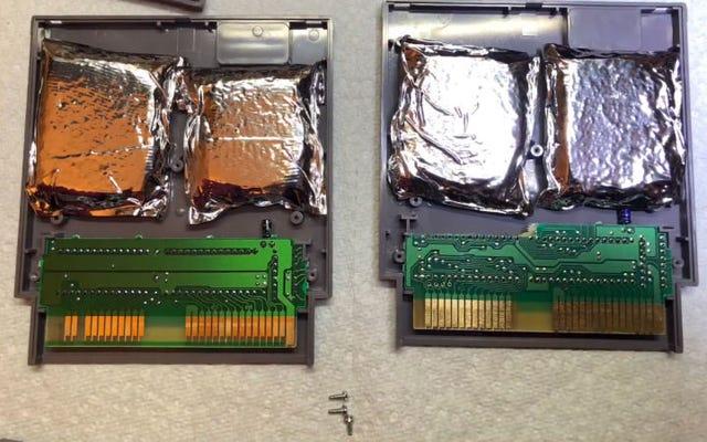 Un collectionneur de jeux trouve de la drogue cachée dans des cartouches NES