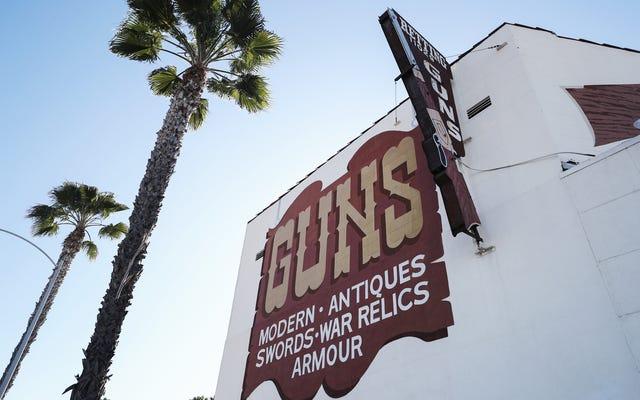 Toko Senjata Api Berlabel Tidak Penting di Los Angeles dan Harus Tutup