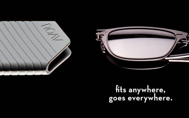 ROAV Eyewear fournit des lunettes de soleil pliantes de poche, enfin
