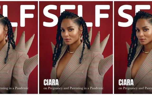 Amamos a Ciara, pero ¿somos los únicos que encuentran su última portada extrañamente llamativa?