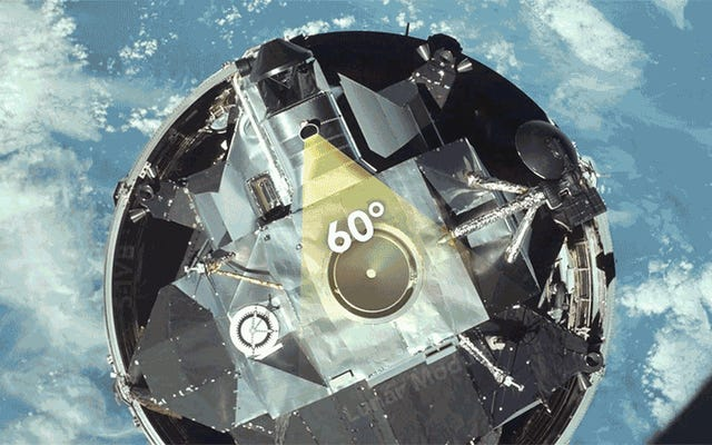 Come gli astronauti dell'Apollo hanno guidato le loro navi con un telescopio straordinariamente semplice