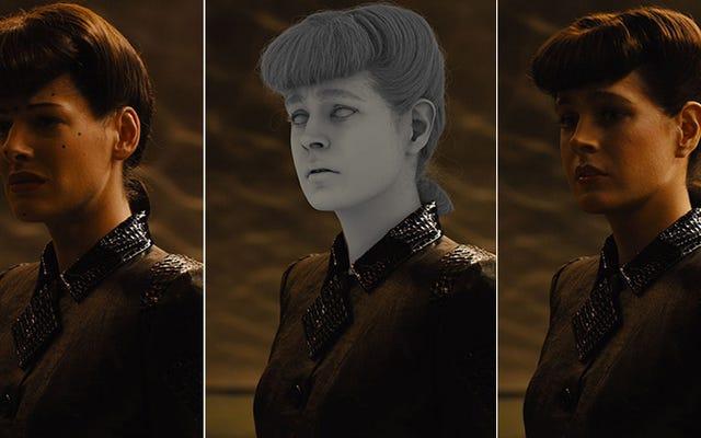Foi assim que a versão espetacular de Rachael foi criada em CGI para Blade Runner 2049