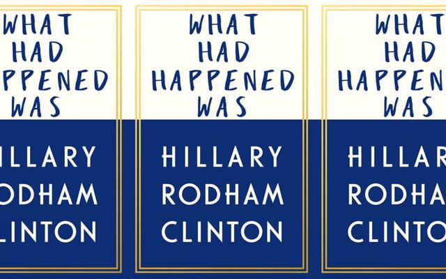 ヒラリー・クリントンの回想録が9月に公開されるので、タイトルの提案をいくつかして彼女を支援することにしました。