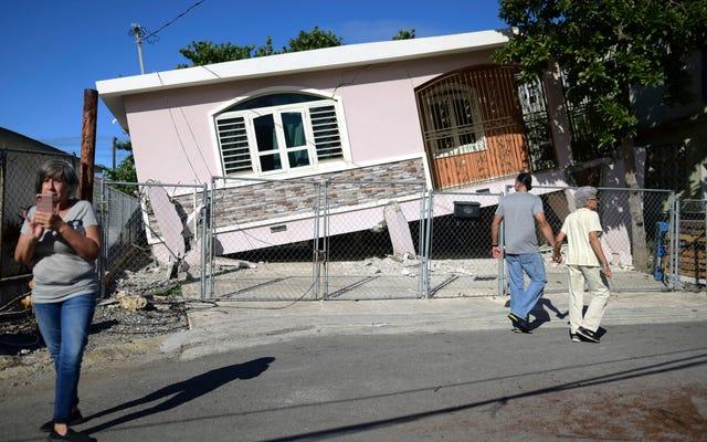 地震は、プエルトリコの電力網が依然として脆弱であることを示しています