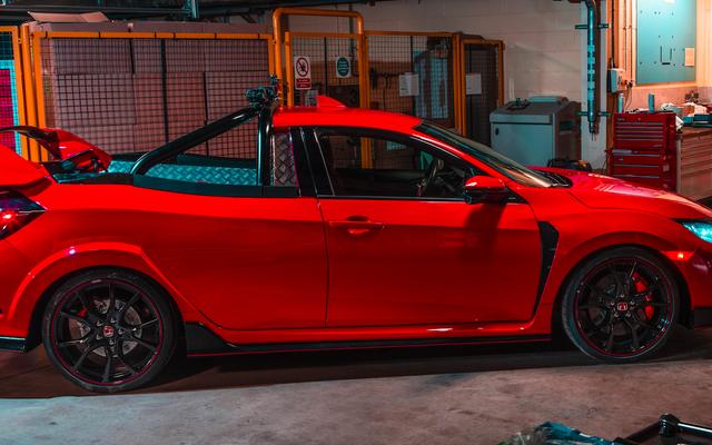 Insinyur Honda Membuat Truk Pickup Honda Civic Type R Dan Sekarang Saya Membutuhkannya