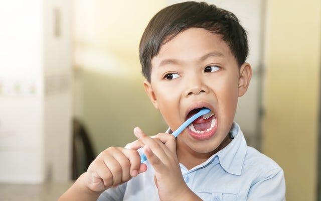 子供に歯を磨くためのお気に入りのハック