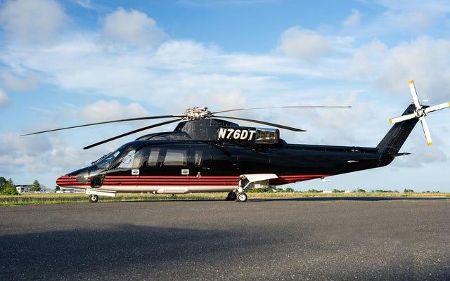 販売中:間もなくトランプ元大統領が所有する金色のシコルスキーS-76Bヘリコプター