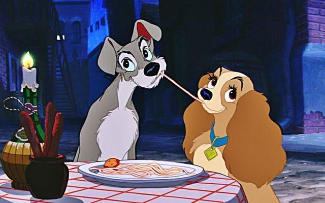 Lady And The Tramp adalah film paling dewasa dari Walt Disney
