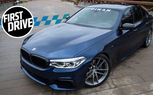 Ecco cosa può fare una BMW Serie 5 con $ 14.000 in aggiornamenti Dinan