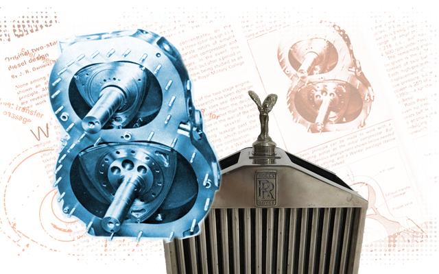 Cela pourrait être le moteur le plus étrange jamais fabriqué par Rolls-Royce