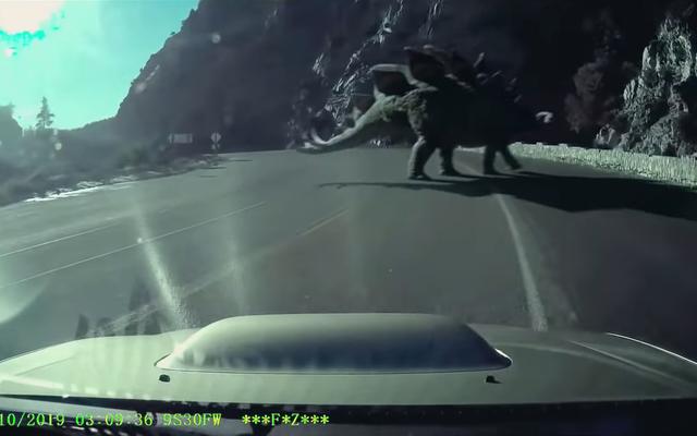 Saksikan dinosaurus membawa Amerika dalam film pendek Jurassic World baru ini