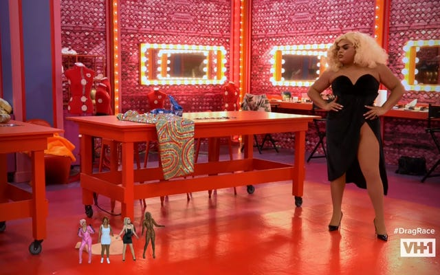 """การแข่งขัน Drag ของ RuPaul นิ้วสู่รอบชิงชนะเลิศด้วย"""" Henny, I Shrunk The Drag Queens!"""""""