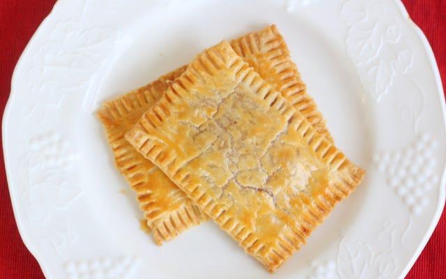 感謝祭の朝のためにクランベリートースターペストリーを作って冷凍する