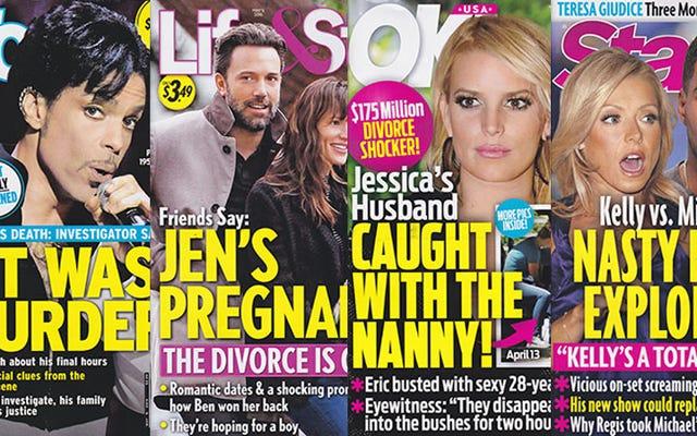 今週のタブロイド紙:ジェシカ・シンプソンの夫が乳母を犯している可能性があり、この傾向に遅れをとっている