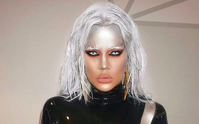 Trang phục Halloween trong Storm của Khloe Kardashian thật kinh khủng