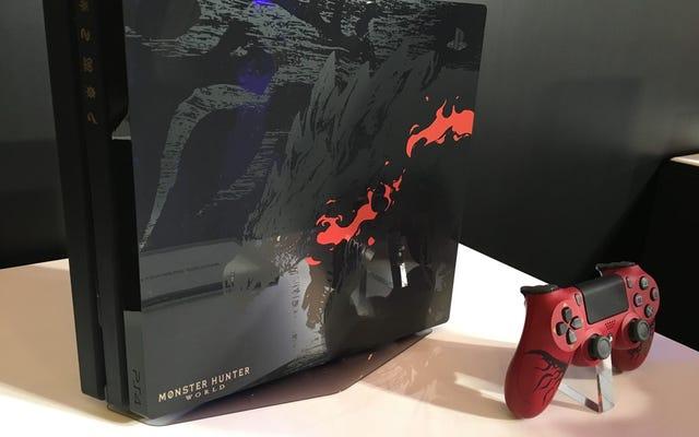Sony lanzará un Monster Hunter World PS4 Pro antes de que salga el juego
