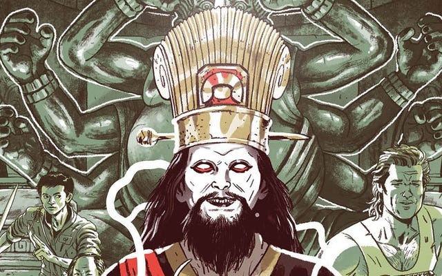 Большой переполох в Громкоговорителе Маленького Китая делает последний бой в новом комиксе Старик Джек