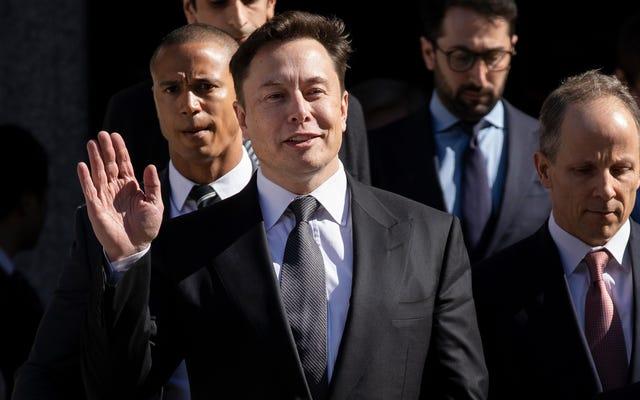 Okropne tweety Elona Muska są przedmiotem kolejnego pozwu