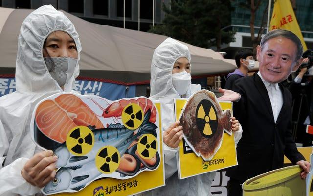 Le nouveau plan japonais de Fukushima: déverser des eaux usées radioactives dans la mer