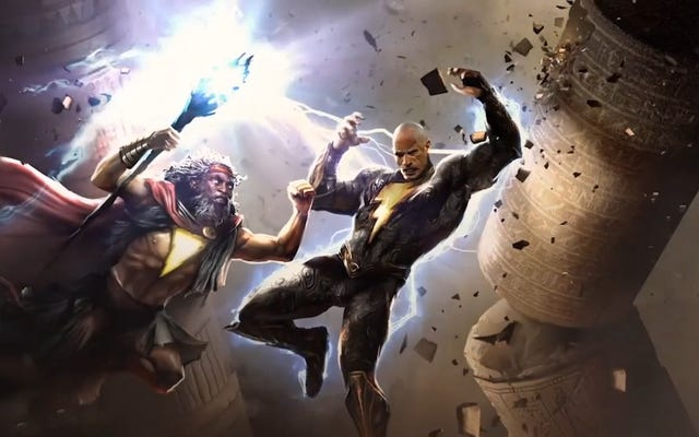La production Black Adam de The Rock commence sur le film DC Comics