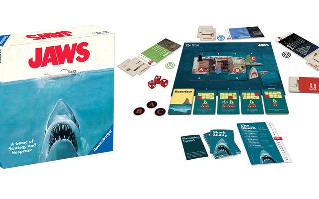 Tout le monde se battra pour savoir qui jouera le requin dans ce nouveau jeu de société Jaws