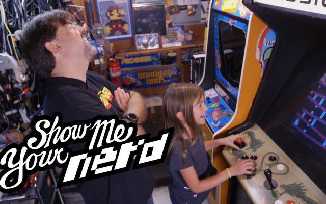 この地下バンカーには古代のビデオゲームの宝庫があります