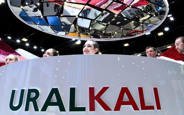 Solo un recordatorio de que Uralkali, el nuevo patrocinador de Haas F1, provocó hundimientos masivos a través de sus operaciones mineras