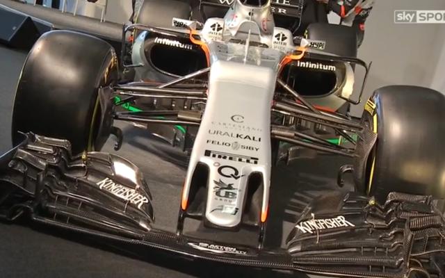 O carro da Force India deste ano é definitivamente o piloto de Fórmula 1 mais feio até agora