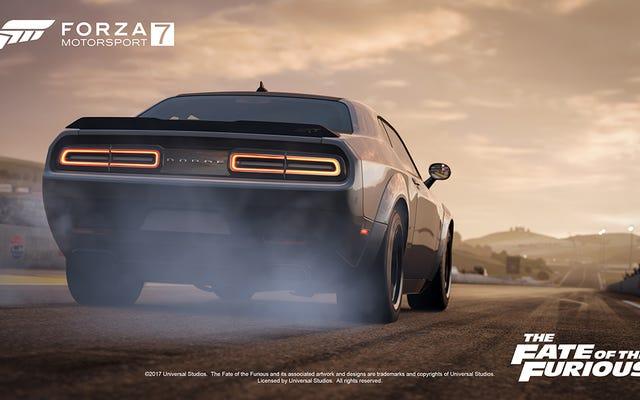 Saya Tidak Bisa Memutuskan Apakah Saya Akan Membeli Fate Of The Furious Car Pack Untuk Forza 7 (Oke Baik, Saya Mungkin Akan)