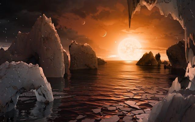 अविश्वसनीय विज्ञान यह 40 प्रकाश वर्ष दूर ग्रहों का पता लगाने और यह जानने के लिए लेता है कि क्या वे रहने योग्य हैं