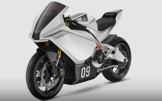 セグウェイは新しい高出力電動バイクを持っています。これはあなたの最初の閉回路テストです