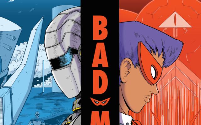 ジョンチャドのバッドマスクは、コミックボックスセットに子供向けのアプローチを採用しています