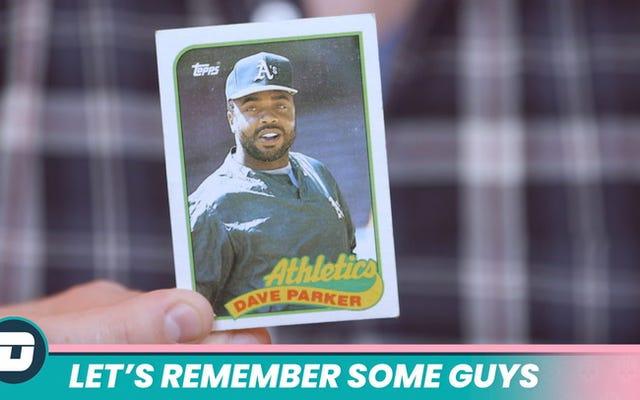 Mari Ingat Beberapa Orang: Dave Parker Menghadapi Akhir