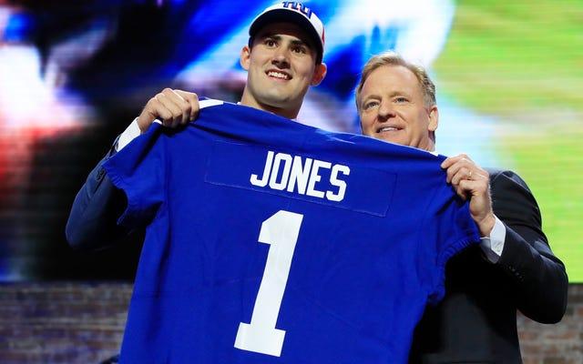 Les géants étaient extrêmement excités pour Daniel Jones