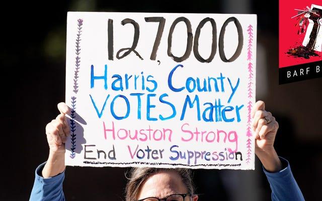共和党員でさえ、テキサス州の有権者の権利を剥奪する他の共和党員の努力にうんざりしている