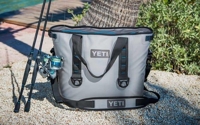 Эта редкая скидка на мягкий охладитель YETI Hopper 40, вероятно, будет продана к обеду